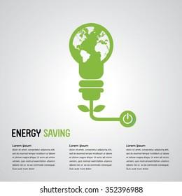 energy saving / save world.