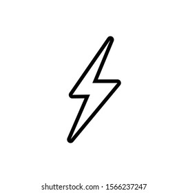 Energy sign vector illustration logo template