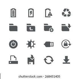 Energy and Storage // Apps Interface