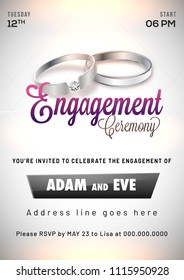 Engagement Invitation Images Stock Photos Vectors Shutterstock