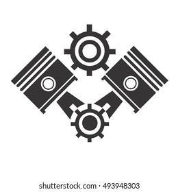 engine vector logo