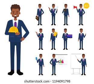 Engineer people industry character.