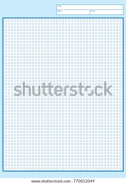 photo about Printable Engineering Paper referred to as Know-how Graph Paper Printable Graph Paper Inventory Vector