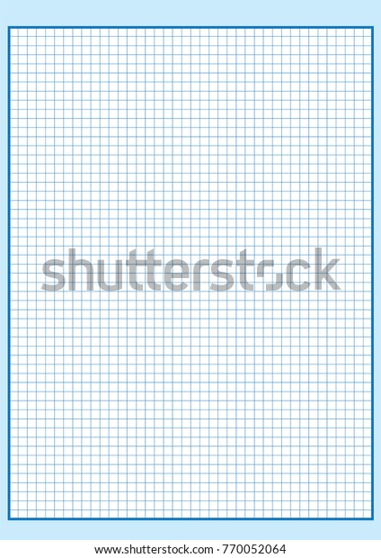 picture about Engineering Paper Printable called Know-how Graph Paper Printable Graph Paper Inventory Vector