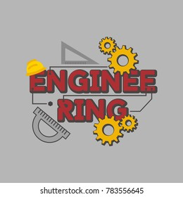 Engineering Illustration Vector