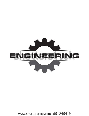 engineering simple logo stock vector royalty free 651245419