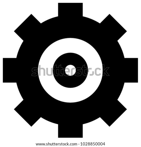 engineman insignia gear icon stock vector royalty free 1028850004