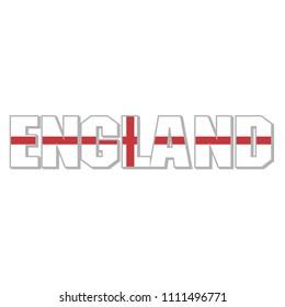 ENGLAND Letter flag icon