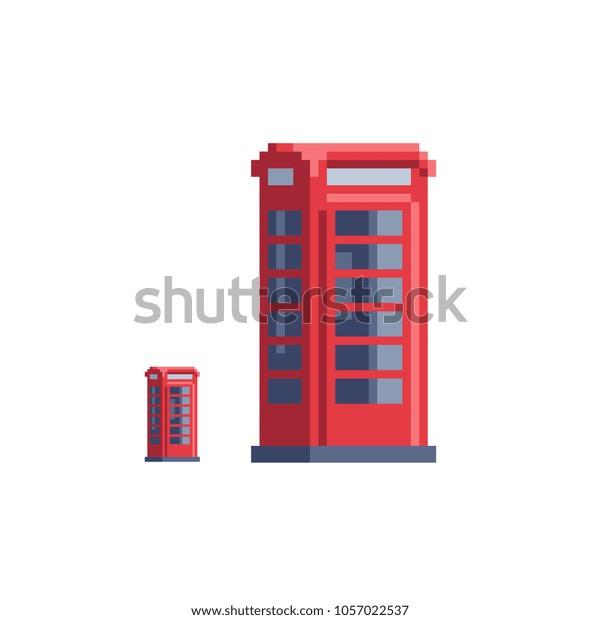 Image Vectorielle De Stock De England London Red Phone Booth