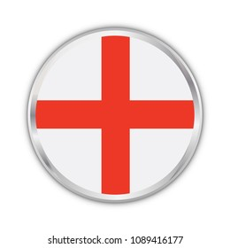 england national circle flag