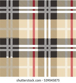 English check pattern vector
