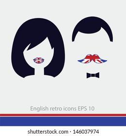 english man and woman