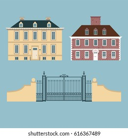 Country Homes Uk Stock Illustrations, Images & Vectors