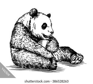 Panda Drawing Images Stock Photos Vectors Shutterstock