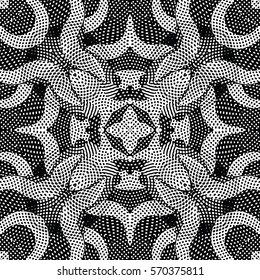 Engraving pattern. The protective layer for banknotes, diplomas and certificates. Vector illustration