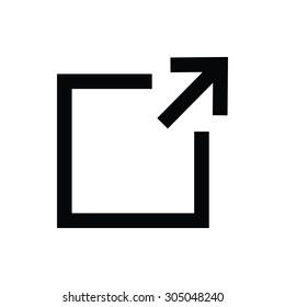 Enlarge Vector Icon