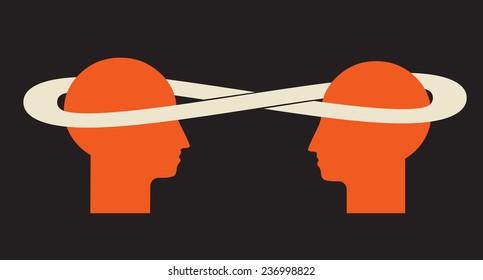 enriching idea exchange - 2 minds talk