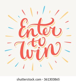 Enter to win!