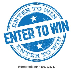 Enter To Win Stamp