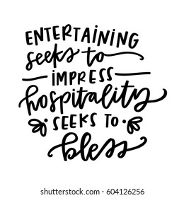 Quotes On Hospitality HD Stock Images | Shutterstock
