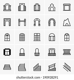 Entrances and windows