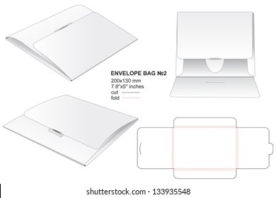 envelope bag for business documents