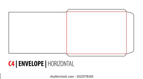 Envelope Template Vector Images Stock Photos  Vectors  Shutterstock