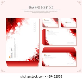 envelope Design set
