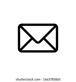 Envelope Icon In Trendy  Design Vector Eps 10