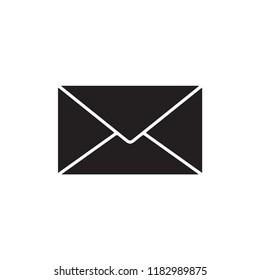 envelope icon in trendy flat design