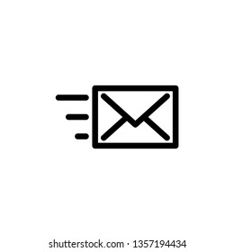 Envelope Icon Vector Illustration Logo Template