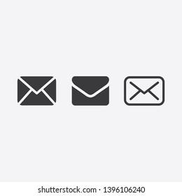 Envelope Mail icon symbol vector