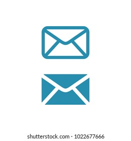 Envelope, Mail Icon Vector Template