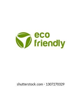 Environment friendly logo design