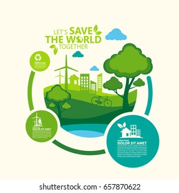 Environment. Let's Save the World Together