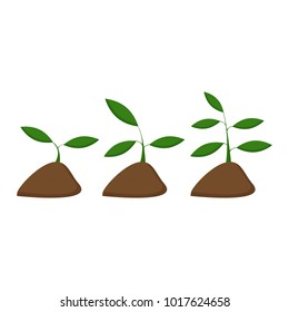 Environment protection concept. Vector illustration. Ecology concept with a plant.