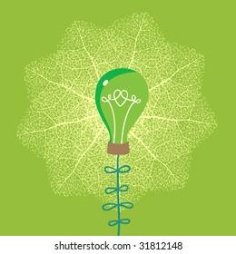 Environmental concept in green