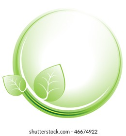 Environmental protection symbol. Vector illustration