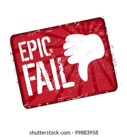epic fail stamp hand gesture