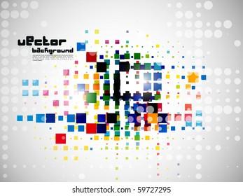 eps10 abstract mosaic vector illustration