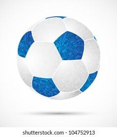 eps10, abstract soccer ball