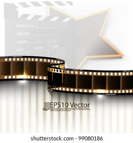 eps10 abstract vector cinematography background design