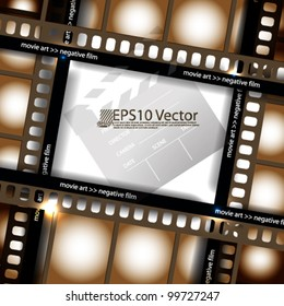 eps10 abstract vector cinematography concept design