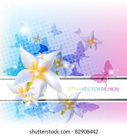 Eps10 Colorful Floral Design