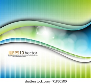eps10 vector abstract colorful background design