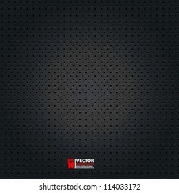 eps10 vector abstract dotted metal background design
