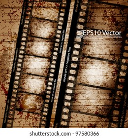 eps10 vector abstract film strip design