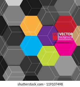 eps10 vector abstract geometric background design