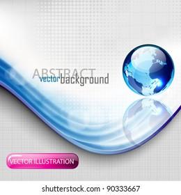 eps10 vector abstract globe concept design