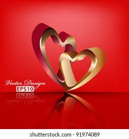 eps10 vector abstract heart concept design